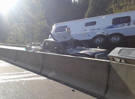 Double Motor Vehicle Accident I-5