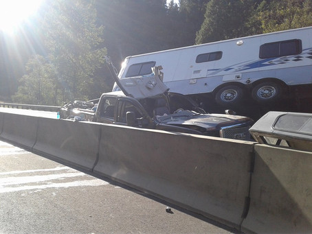Double Motor Vehicle Accident I-5