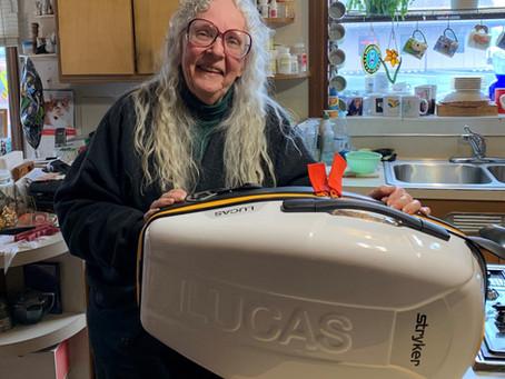 Community Member Donates LUCAS Device