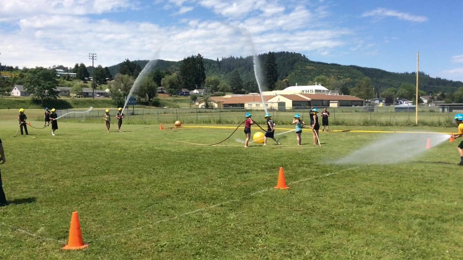 Water Soccer Yoncalla High School 2018