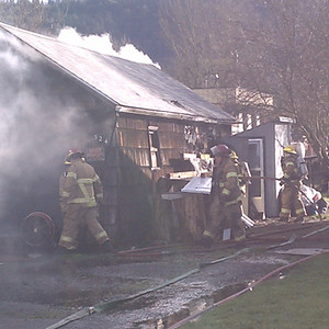 Shed Fire Date St. Drain