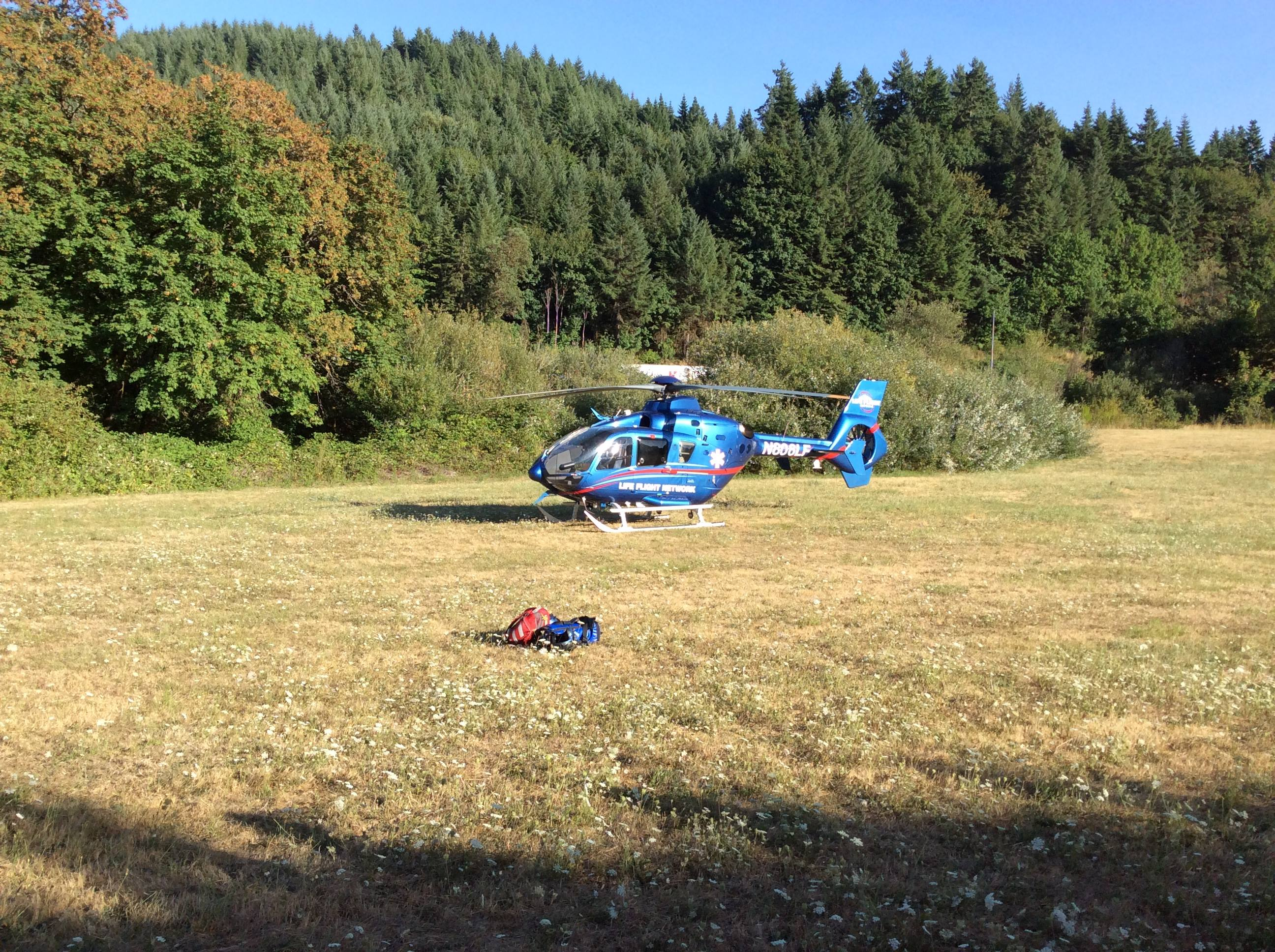 Life Flight 5 from Cottage Grove