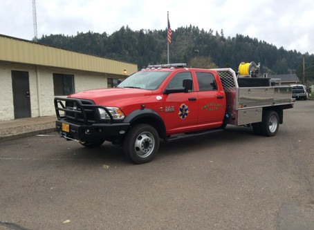 North Douglas Fire assists in Horse Prairie Fire