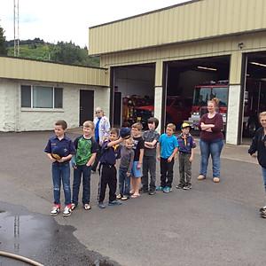 Boy Scouts Station Tour