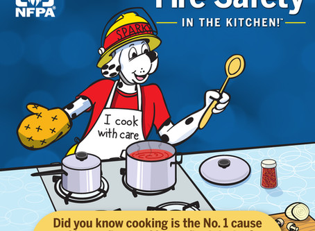 """2020 Fire Prevention Week """"Serve Up Fire Safety in the Kitchen!™"""