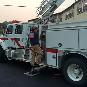 Ladder Truck Training