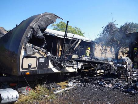 Structure Fire 753 Elkhead Rd. Yoncalla