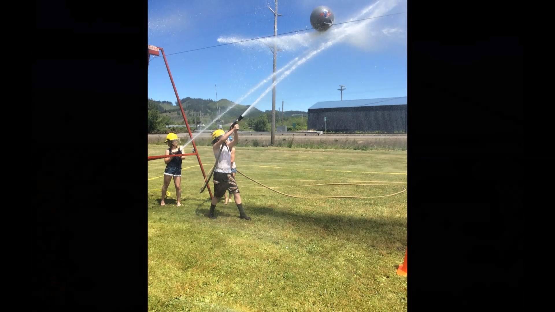 2017 Yoncalla High School Water Ball Tournament