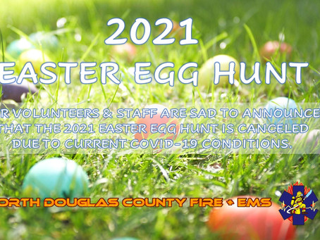 2021 Easter Egg Hunt is canceled due to COVID-19
