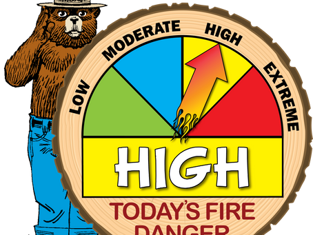 Fire Danger Increases to High