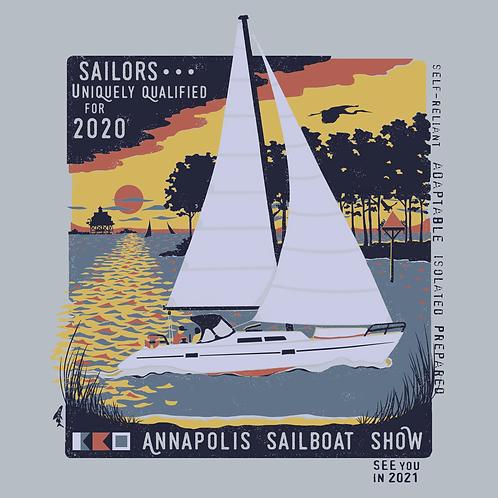 2020 Sailboat Show Long Sleeve Tee