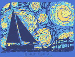 Starry Night Sail