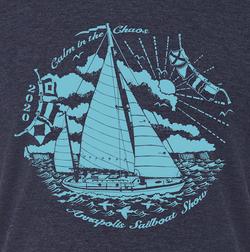 Calm in the Chaos Sail Tee