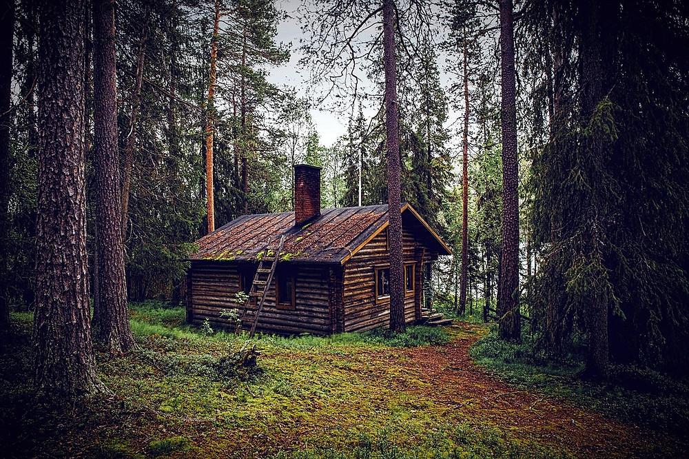 Előző élet erdei háza