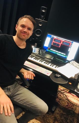 Tobias at Rockatown Studios