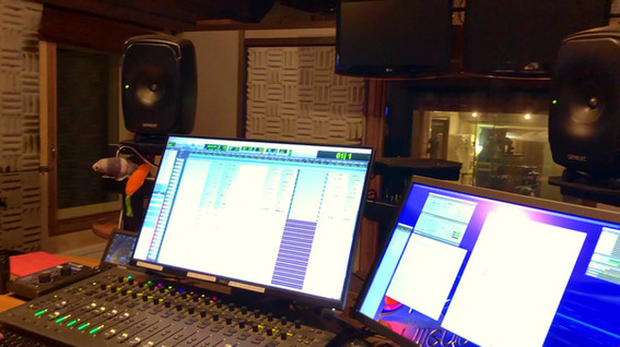 A glimpse from the recording
