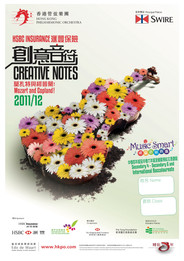 "2011/12 HSBC Insurance Creative Notes ""Music Smart"""
