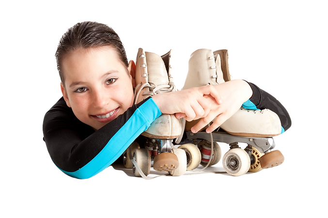girl%20with%20roller%20skates%20isolated
