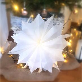 DIY - Weihnachtsstern aus Brottüten