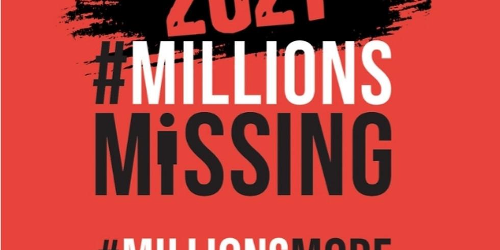 Mobilisation #MillionsMissing2021