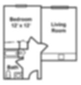 Claremont Retirement Village Memory Care Floorplan