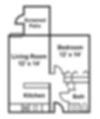Claremont Retirement Village Assisted Living Floorplan