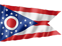 Ohio Flag Waving
