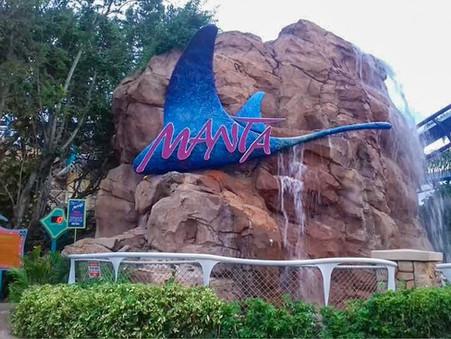 Altura mínima das atrações dos parques
