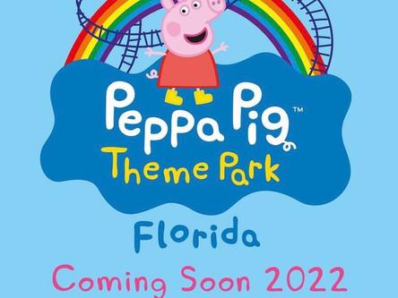 Parque temático da Peppa Pig é anunciado