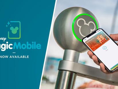 MagicMobile já está disponível nos parques da Disney