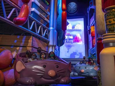 Atração do Ratatouille tem data de inauguração confirmada
