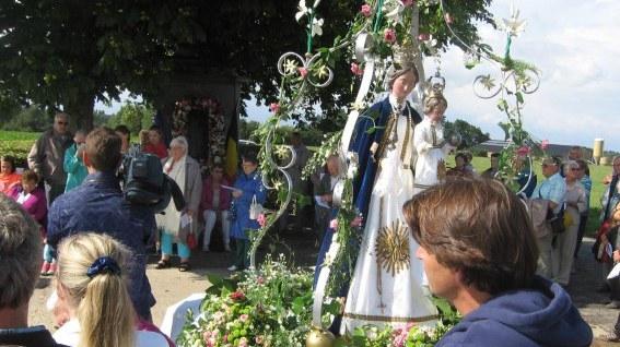 Procession 16h à la chapelle