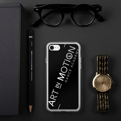 Art in Motion Clear iPhone Case