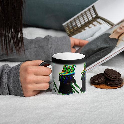 Amy Dowden Matte Black Magic Mug