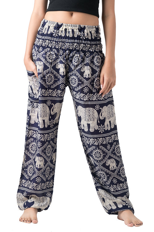 BP022 Long Pants Elephant Navy