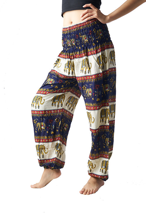 BP025 Long Pants Elephant Blue