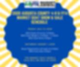 2020 Augusta County 4-H & FFA Market Goa