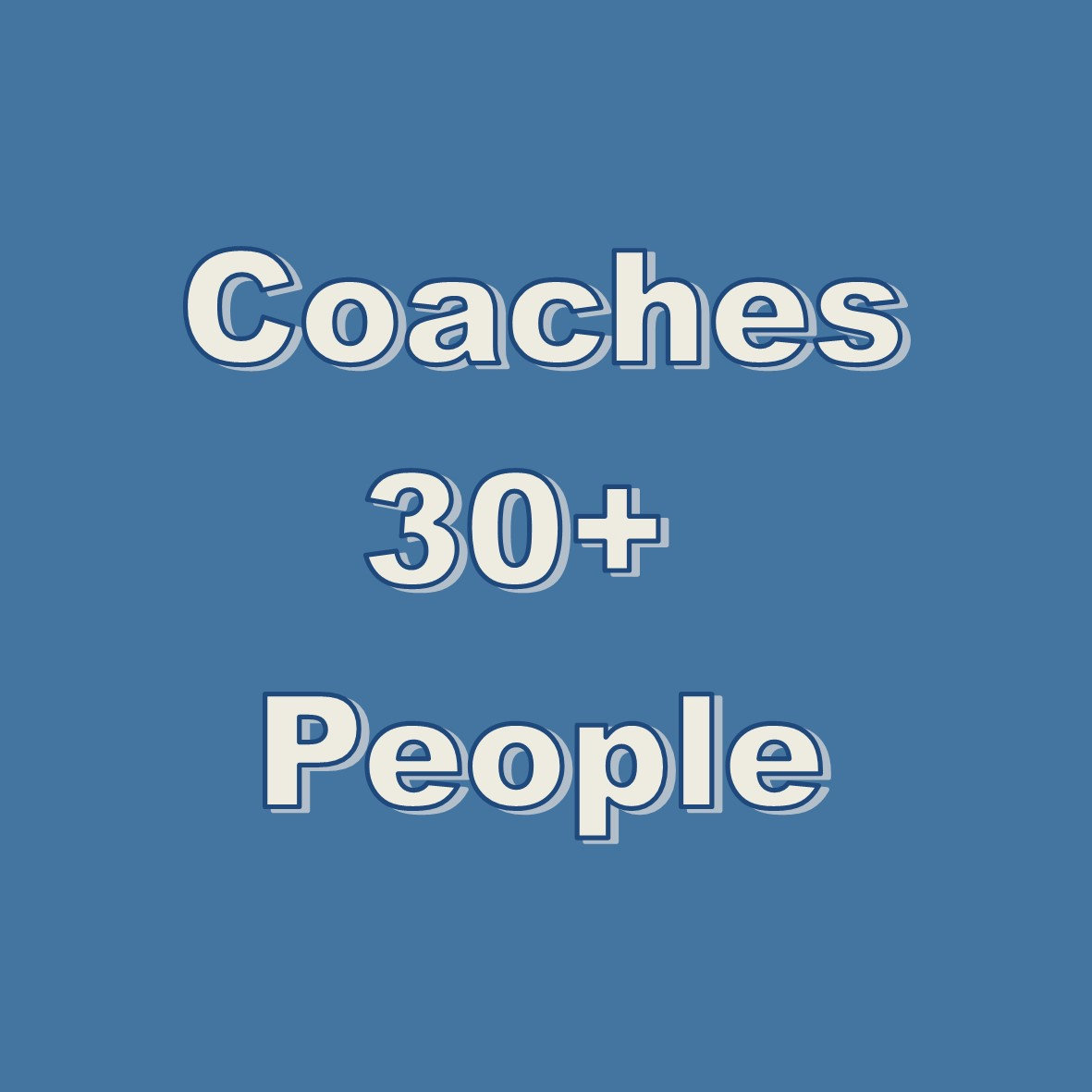 Coaches Workshop > 30 People