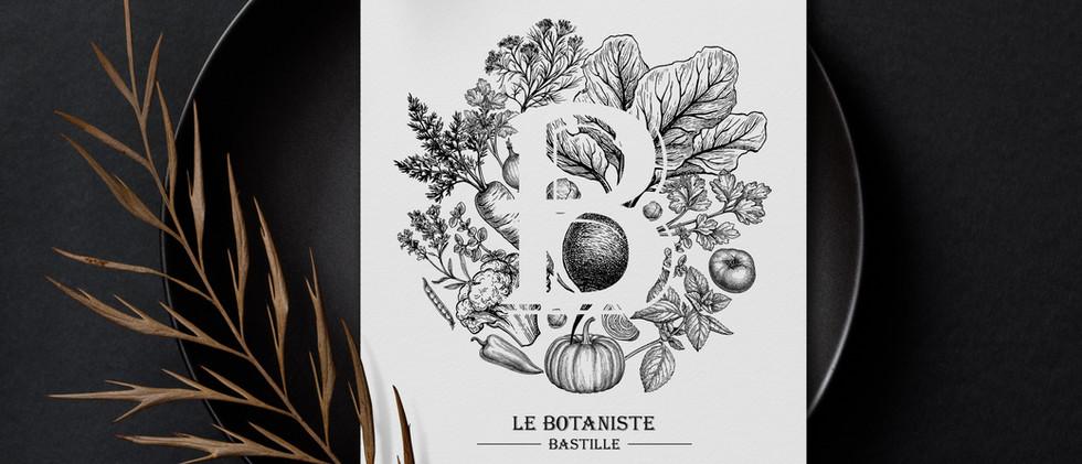 Menu restaurant Le Botaniste