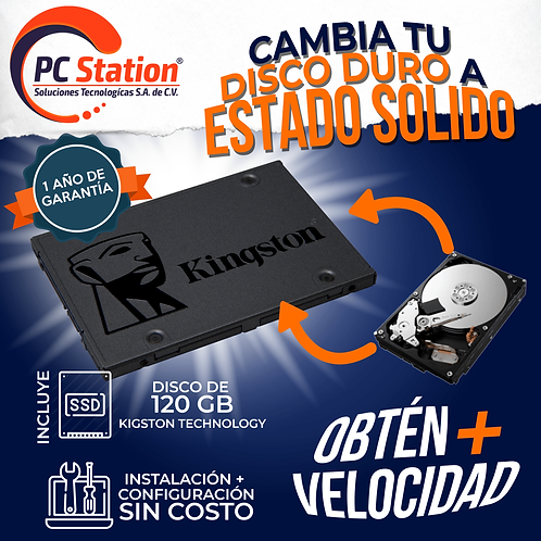 DISCO SOLIDO 120 GB
