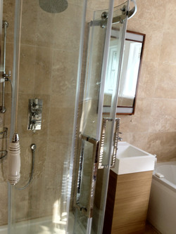 Fitting new Shower enclosure