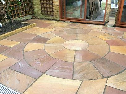 Natural Stone Paving Circle