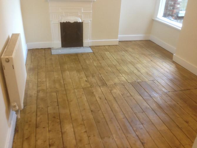 Wood Floor Repair, Sanding Down and Varnishing In Islington