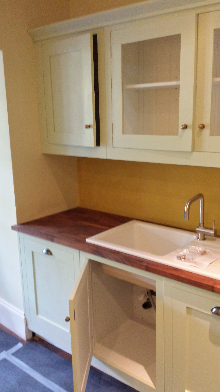 Fitting Worktop and Sink, London