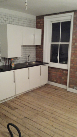Fitting new kitchen in Harringay