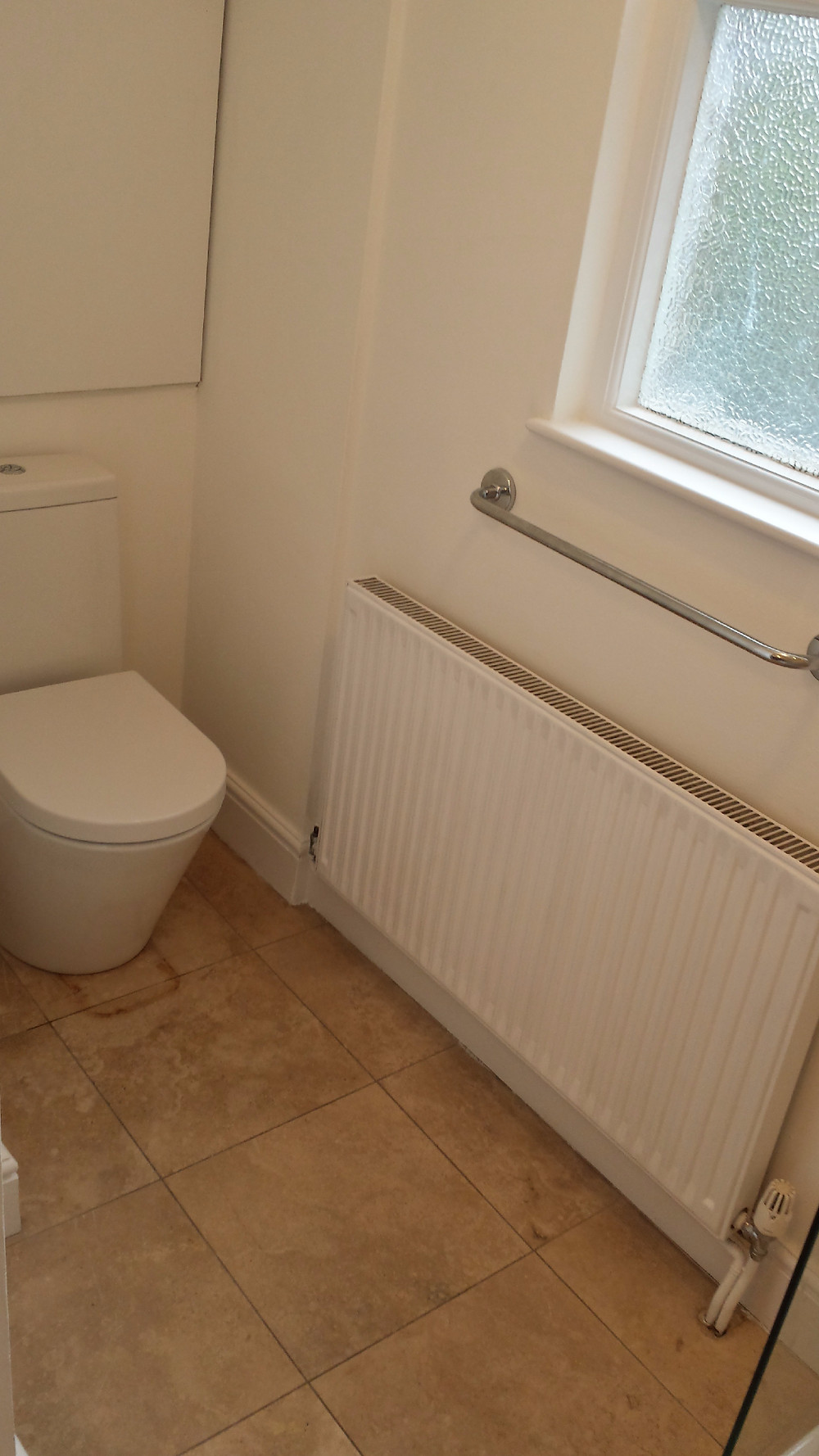 Fit New Toilet