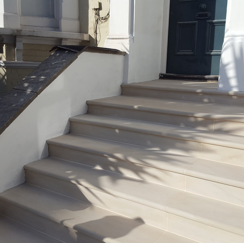 New steps in Oval, NW9