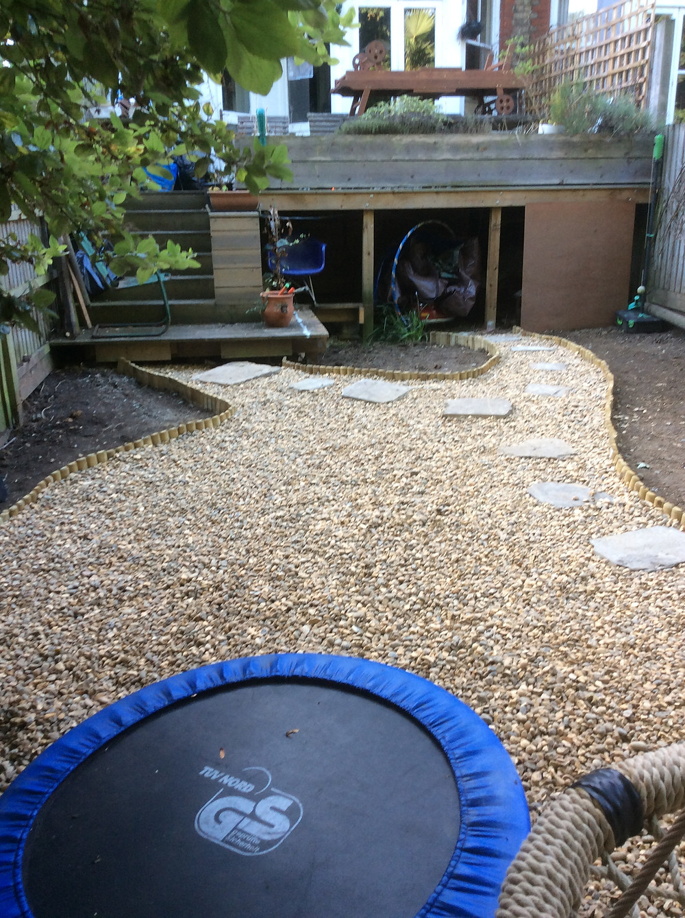 Created play area for kids Muswell Hill, London, N10