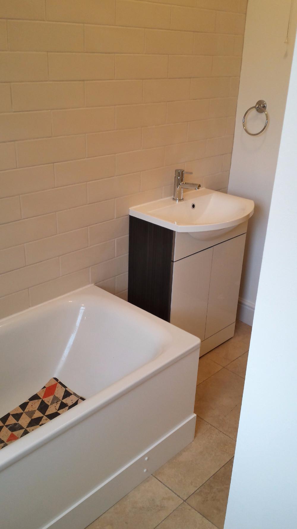 Fit New Bathroom Sink