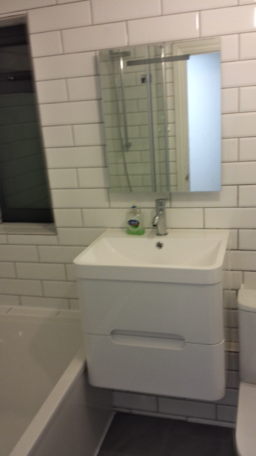 Bathroom Refurbishment, Hackney